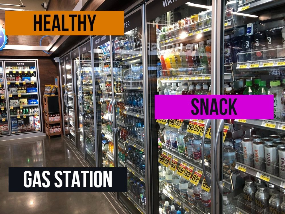 Healthy Snack at Gas Station