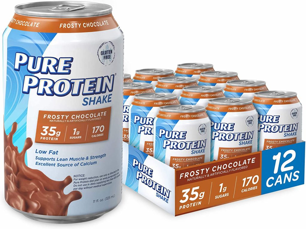 protein drinks at gas station
