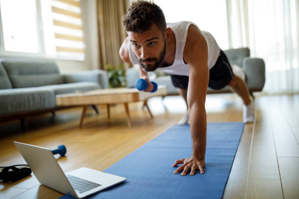 How to Work Out in an Upstairs Apartment