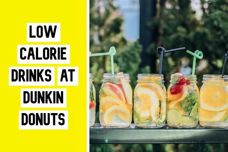 Low Calorie Drinks at Dunkin Donuts