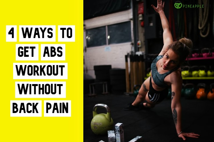 abs workout without back pain