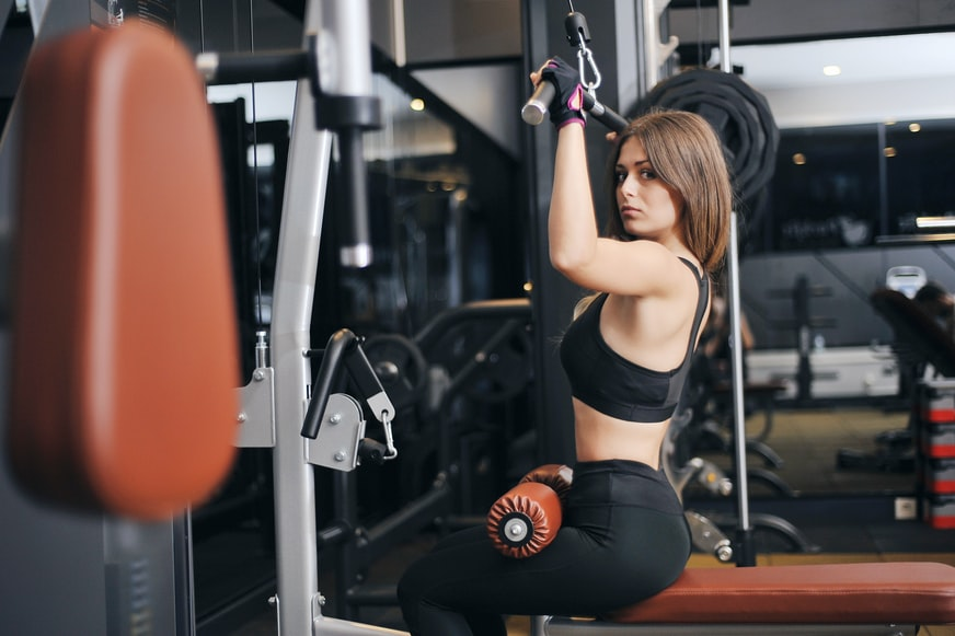 how to do lat pulldowns without a machine